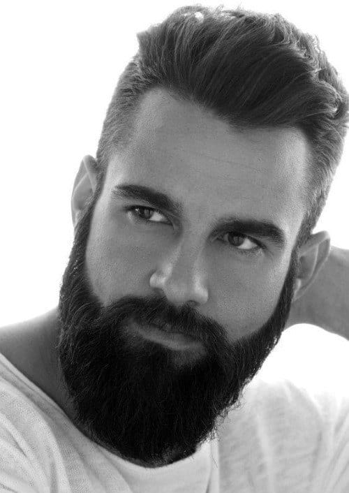 Astounding 50 Hairstyles For Men With Beards Masculine Haircut Ideas Natural Hairstyles Runnerswayorg
