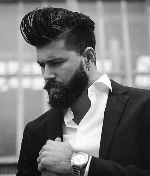 Enjoyable 50 Hairstyles For Men With Beards Masculine Haircut Ideas Short Hairstyles Gunalazisus