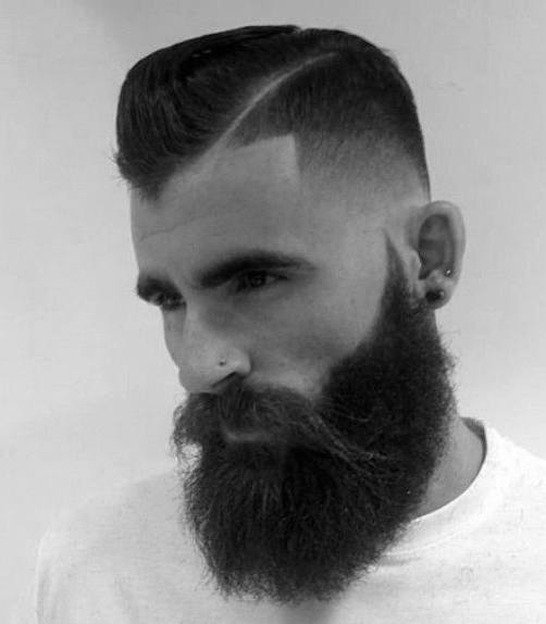 Cool Hairstyle Shaved Sides For Men