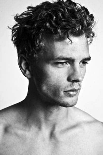 Brilliant 50 Long Curly Hairstyles For Men Manly Tangled Up Cuts Short Hairstyles Gunalazisus