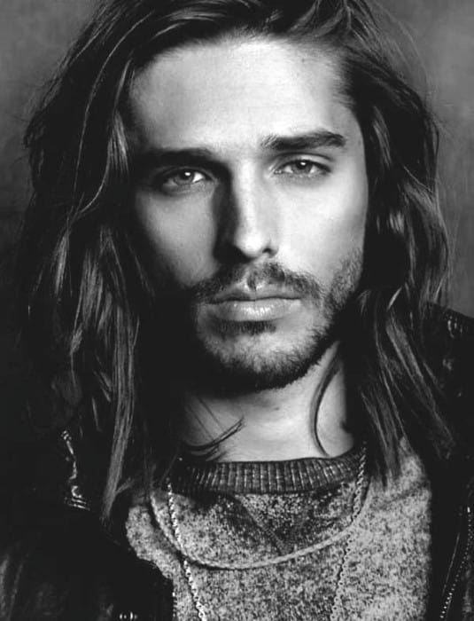 Hairstyles For Long Hair On Guys