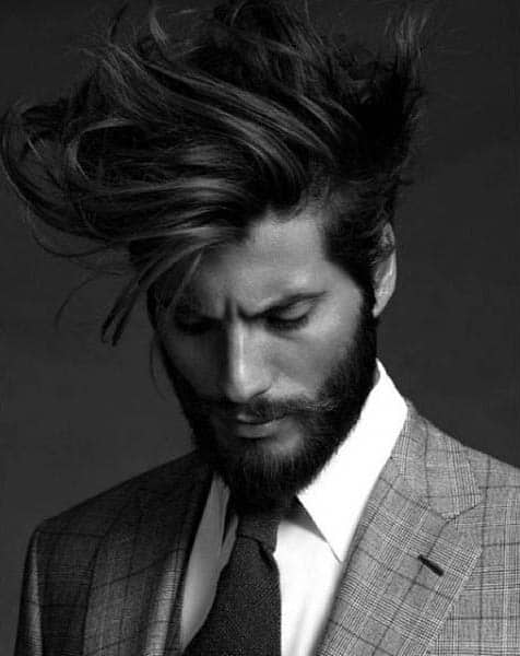 Hairstyles For Medium To Long Hair Ideas For Men