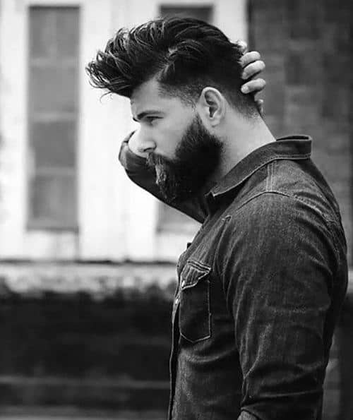 Hairstyles For Men With Beard
