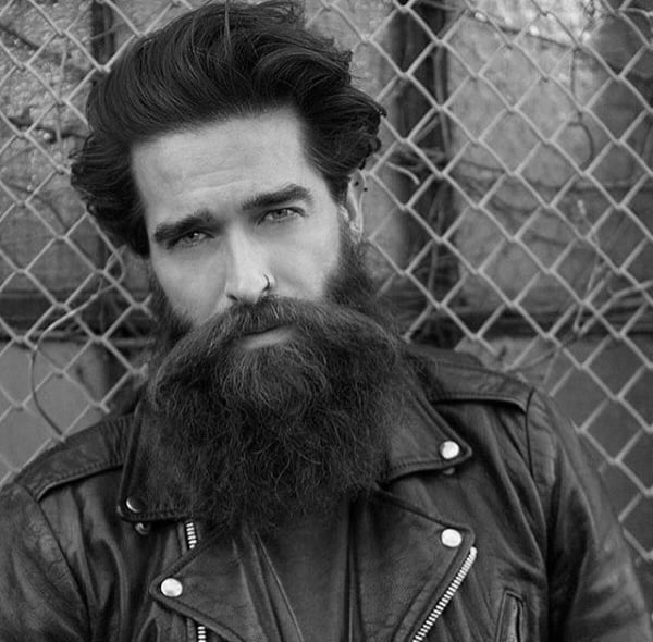 Hairstyles For Men With Beards Hair Medium Length
