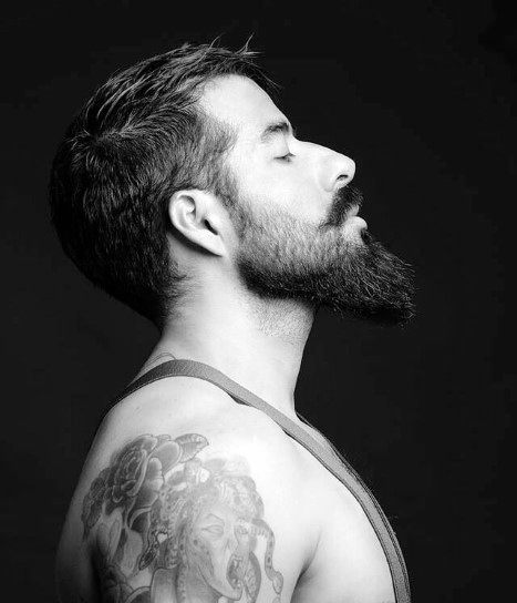 Hairstyles For Men With Beards Thin Straight Hair
