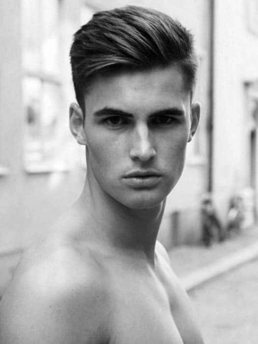 75 Men S Medium Hairstyles For Thick Hair Manly Cut Ideas
