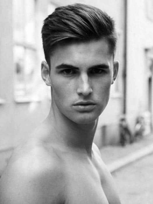 Fine 75 Men39S Medium Hairstyles For Thick Hair Manly Cut Ideas Short Hairstyles For Black Women Fulllsitofus