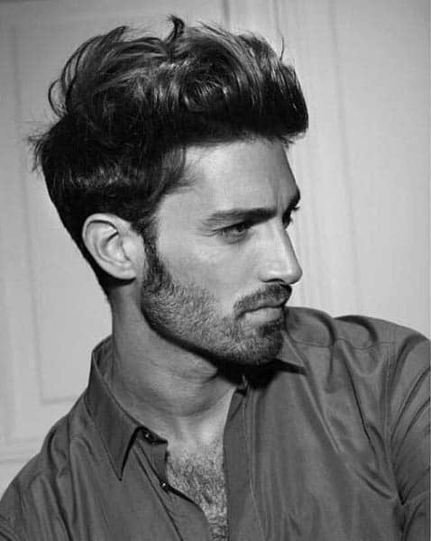 Hairstyles For Mens Medium Long Straight Hair
