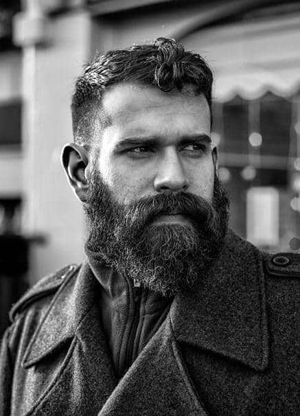 Cool 50 Hairstyles For Men With Beards Masculine Haircut Ideas Short Hairstyles Gunalazisus