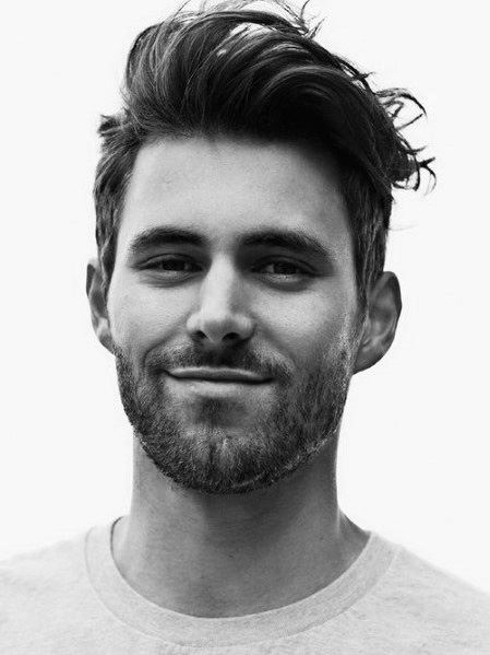 Hairstyles To The Side For Men