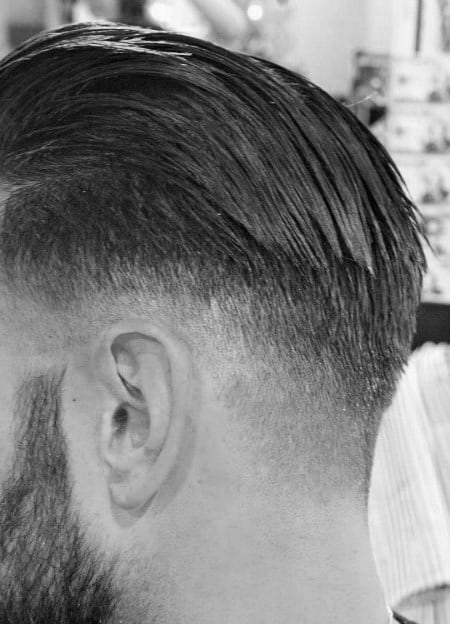 Back Hairstyles With Sides Shaved For Men