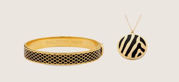 Halcyon Days Bangles And Pendants