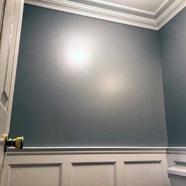 Half Bath Crown Molding Home Designs