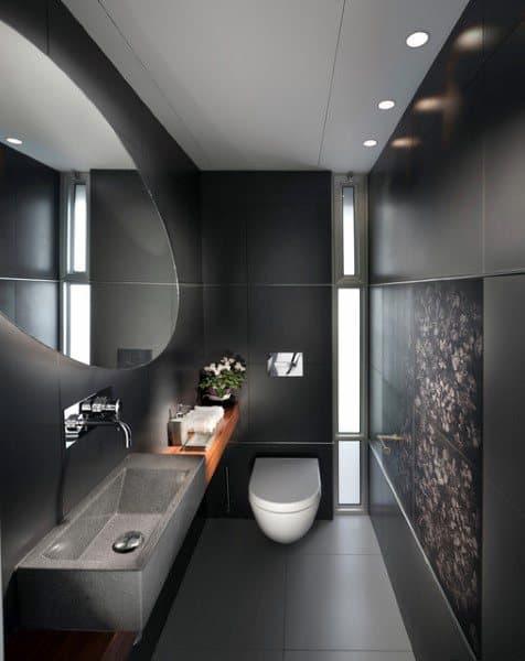 Half Bath Tile Ideas
