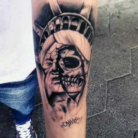 schädel tattoo vorlage