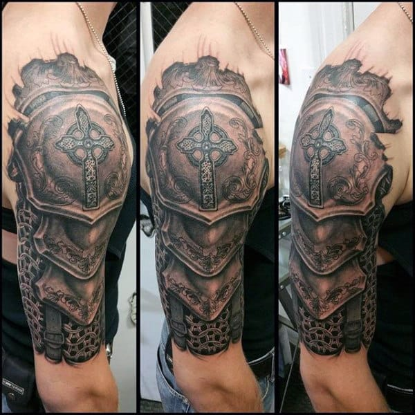 90 Best Armor Tattoos in 2020 – Cool and Unique Designs