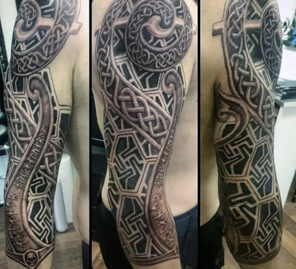 Scottish Celtic Tattoos For Men: 100 Celtic Knot Tattoos For Men