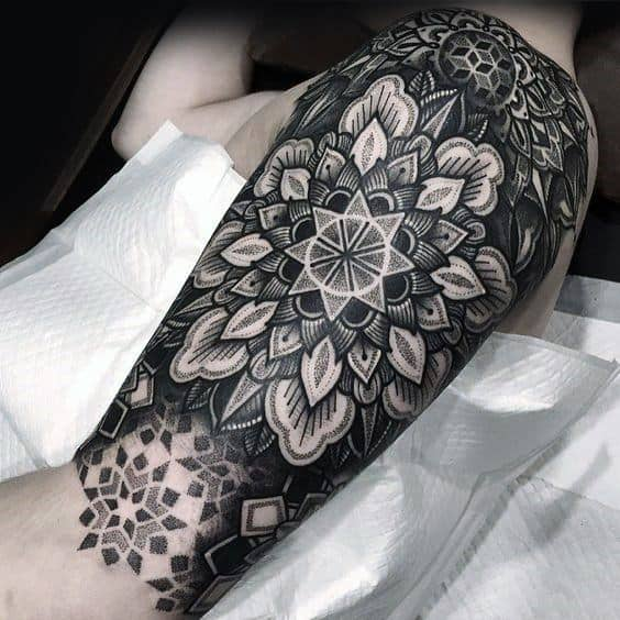 825f0f6e8 70 Mandala Tattoo Designs For Men - Symbolic Ink Ideas