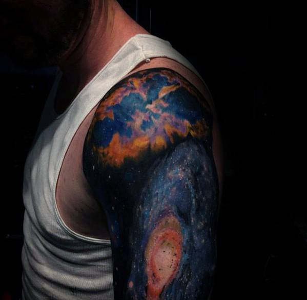 nebula tattoo designs - photo #2