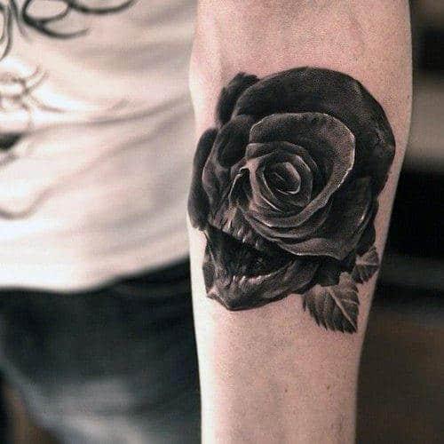 Half Sleeve Skull Tattoos For Men