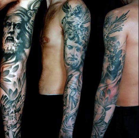 Half Sleeve Tattoo Designs