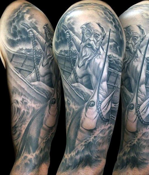 Sailor Half Sleeve Tattoo For Men