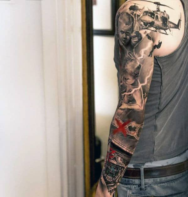 Tententattoo: Top 100 Best Sleeve Tattoos For Men