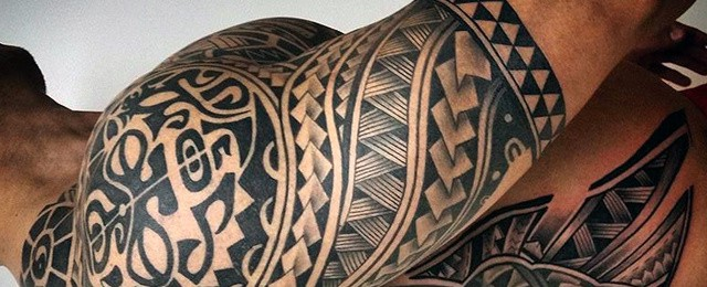 75 Half Sleeve Tribal Tattoos For Men – Masculine Design Ideas