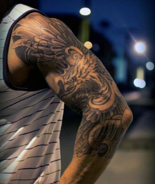 Unique Half Sleeves Tattoos For Men