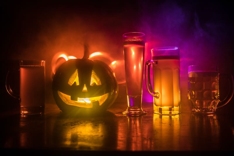 The 13 Scariest Beers To Drink This Halloween