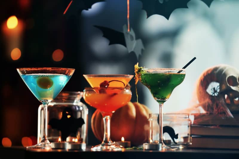 The 15 Spookiest Cocktails To Conjure This Halloween