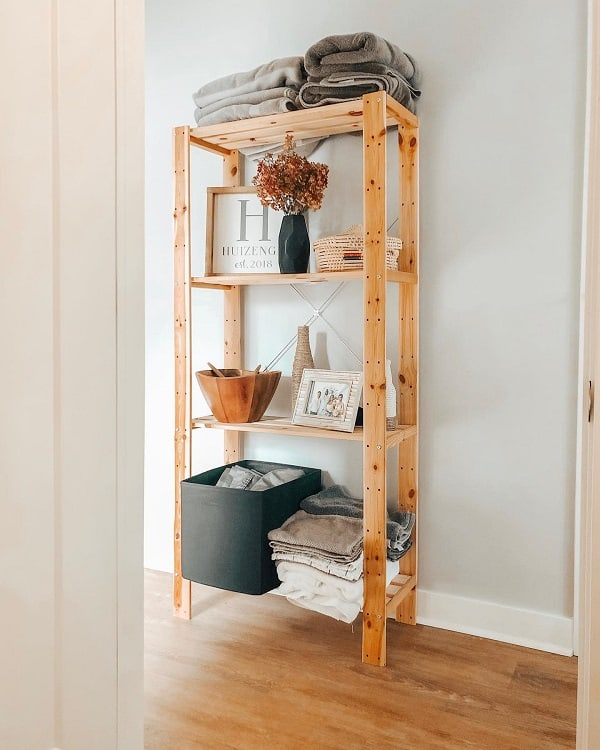 Hallway Bathroom Shelving Unit Amanda Elaine
