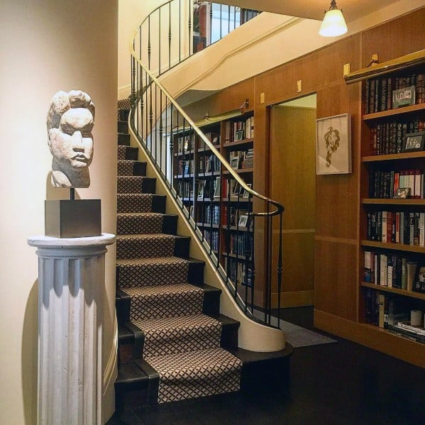Hallway Ideas For Built In Bookcase