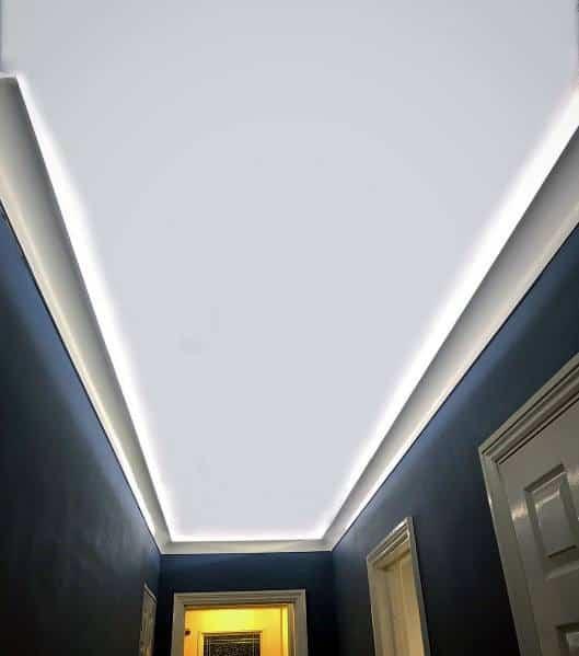 Hallway Ideas Lighting Led Trey Ceiling