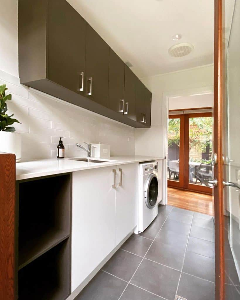 hallway laundry room cabinet ideas woodandform_cabinets