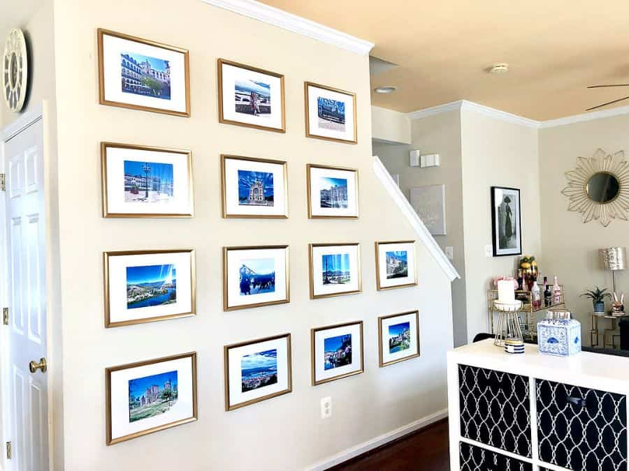 Hallway Picture Wall Ideas Georginashomedecor