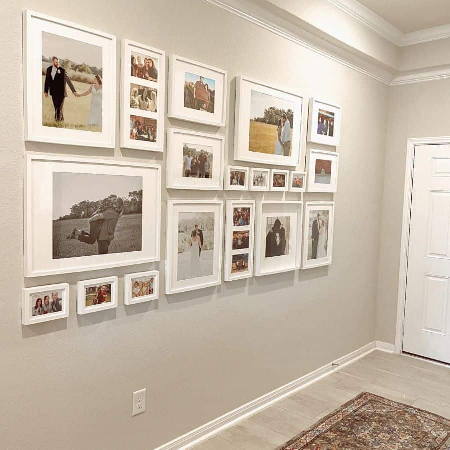Hallway Picture Wall Ideas Prestondiydesigns