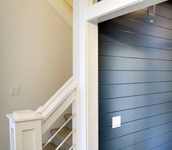 Hallway Shiplap Wall Home Designs