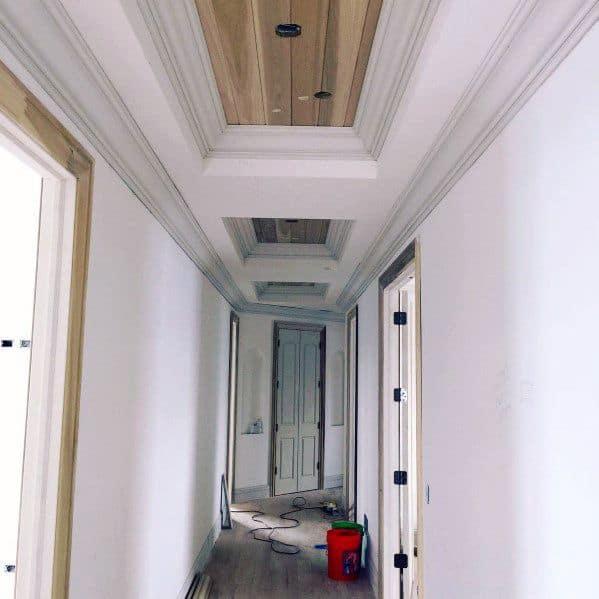 Hallway Trey Ceiling Interior Design