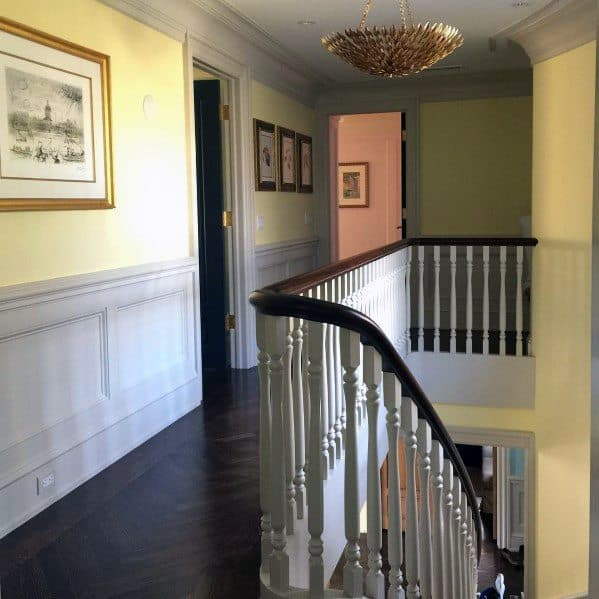 Hallway Vintage Ideas For Home Chair Rail