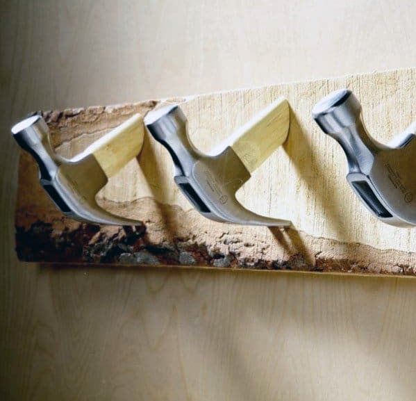 Hammer Coat Rack Diy Man Cave Ideas