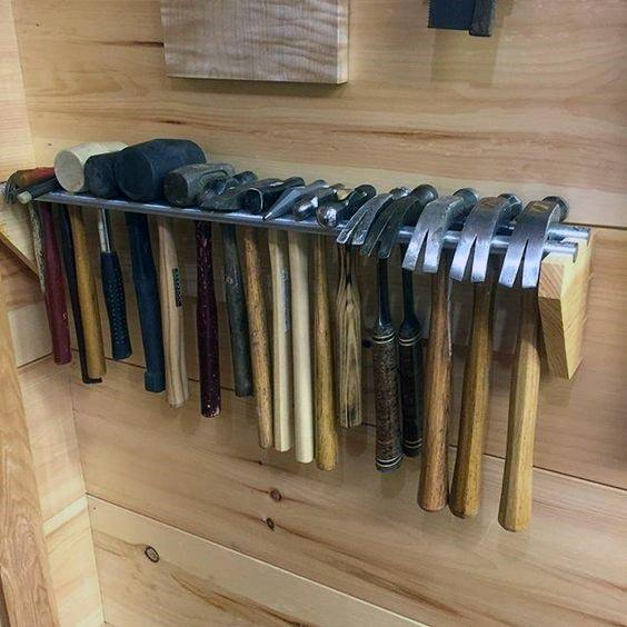 Hammers Tool Storage Ideas