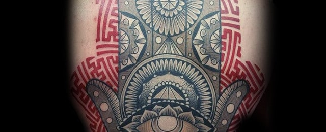 Hamsa Tattoo Designs For Men