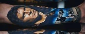 50 Han Solo Tattoo Designs For Men – Star Wars Ideas