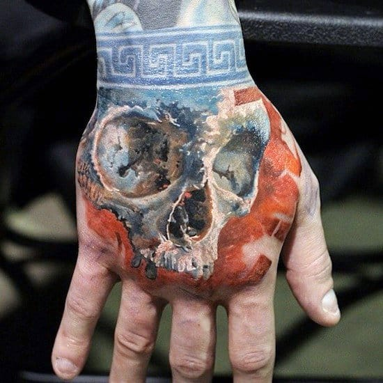 Hand And Wrist Tattoos For Men