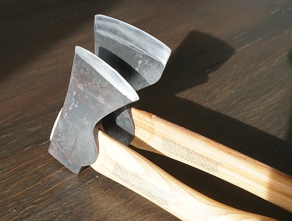 Hand Forged And Sharpened Blades Hults Bruk Axe And Hatchets