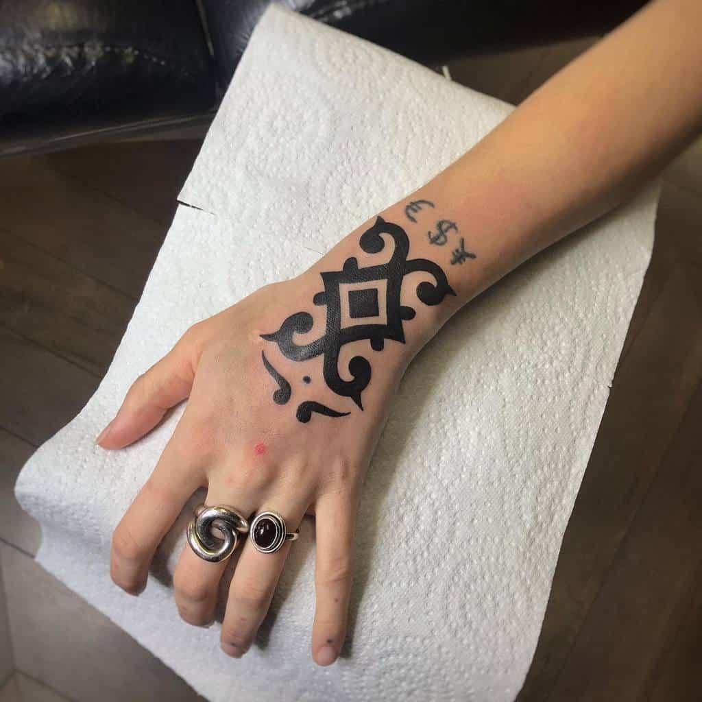 hand simple tribal tattoos alexan_tattoo