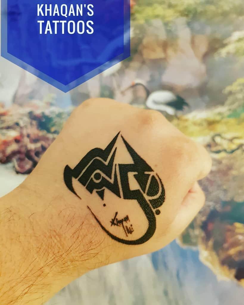 hand simple tribal tattoos khaqanstattoos