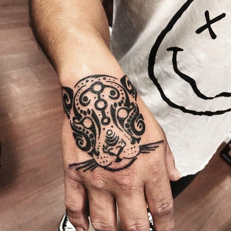 hand simple tribal tattoos mr.inkwells