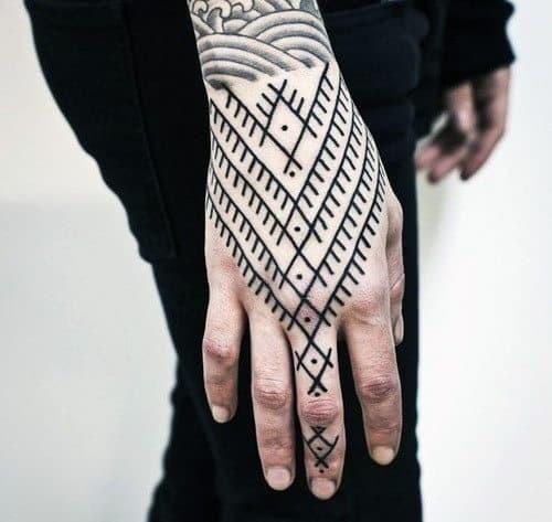 Hand Tattoo Designs For Men